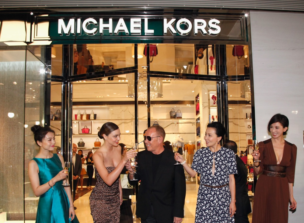 Michael Kors Kerry Centre Flagship Store Opening 2014